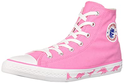 87d9a5ba0ab3 Converse Girls Kids  Chuck Taylor All Star Dinoverse High Top Sneaker