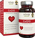 Viva Naturals CoQ10 100mg, 150 Softgels - Enhanced with BioPerine for Increased Absorption