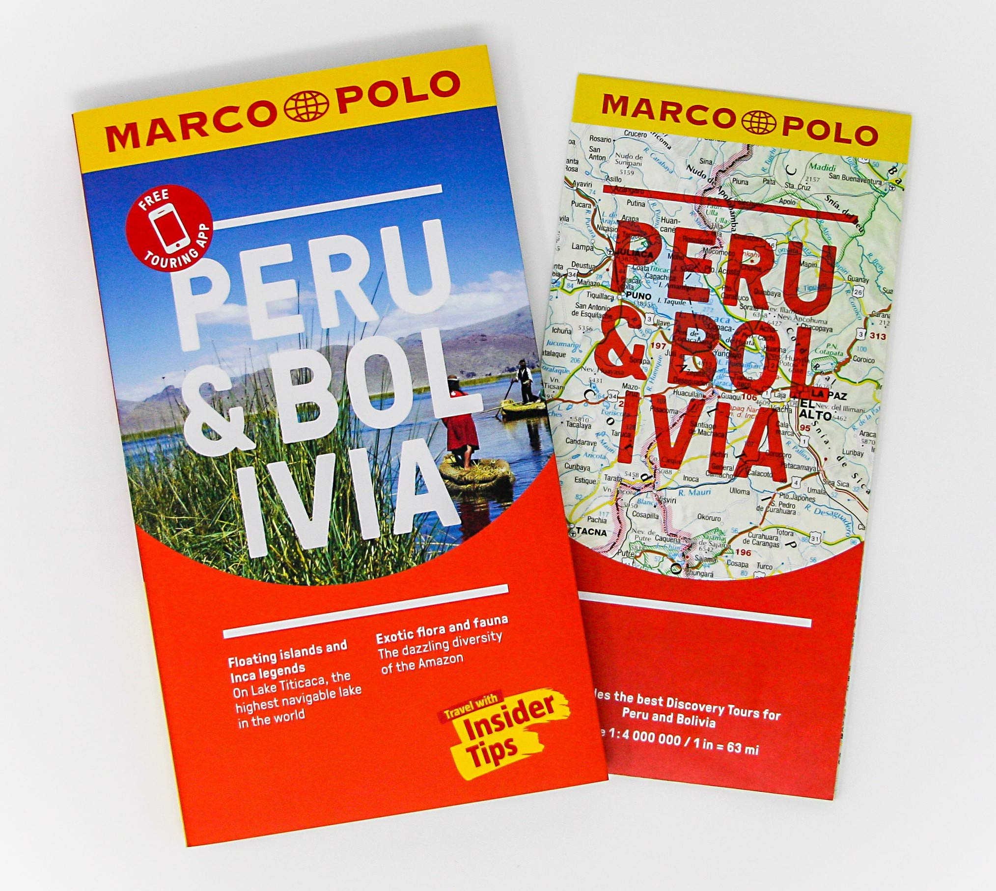 March Holidays In Bolivia: Peru And Bolivia Marco Polo Pocket Guide /(Marco Polo