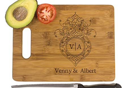 krezy case wooden cutting board bride gift bridal shower gifts kitchen decor wedding
