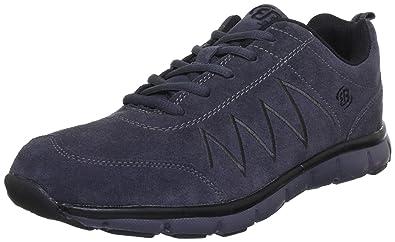 Herren Top Comfort Sneaker, Schwarz (Schwarz/Grau Schwarz/Grau), 45 EU Brütting