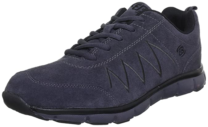 Bruetting Glendale 591045 - Zapatillas de cuero para hombre, Gris (Grau (Grau/Schwarz)), 42 EU