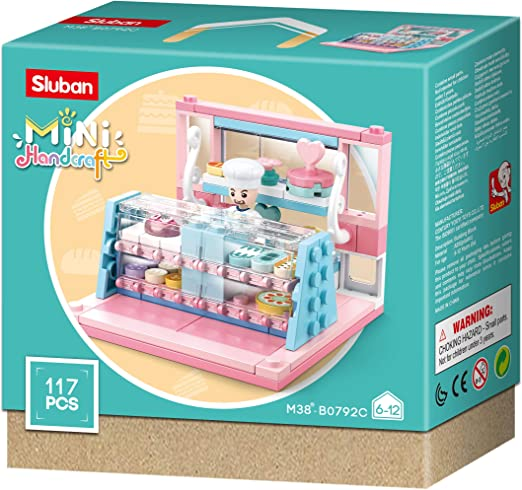 Amazon.com: Sluban M38-B0792 Mini-Handcraft-Shops (8 One Display Box, 2  Pieces Per Item): Toys & Games