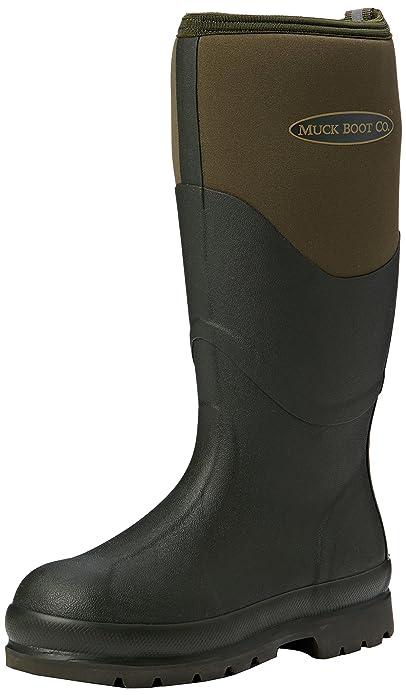 Muck Boots Unisex Adults Chore 2K Work Wellingtons, Green (Moss 333), 4