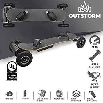 Amazon.com: xSuperbProductions 31MPH Off Road Electric ...
