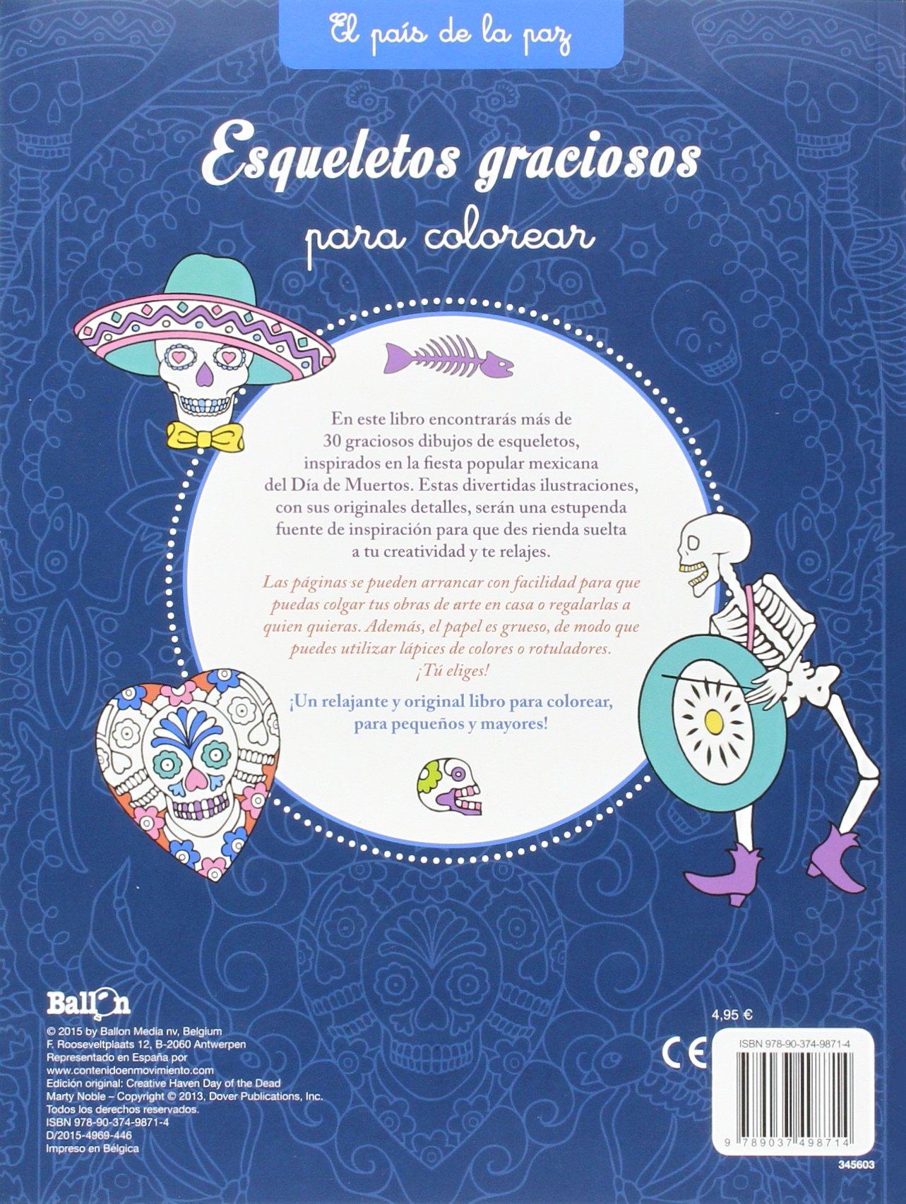 Esqueletos Graciosos. El País De La Paz: Amazon.es: Ballon, Teresa Codina: Libros