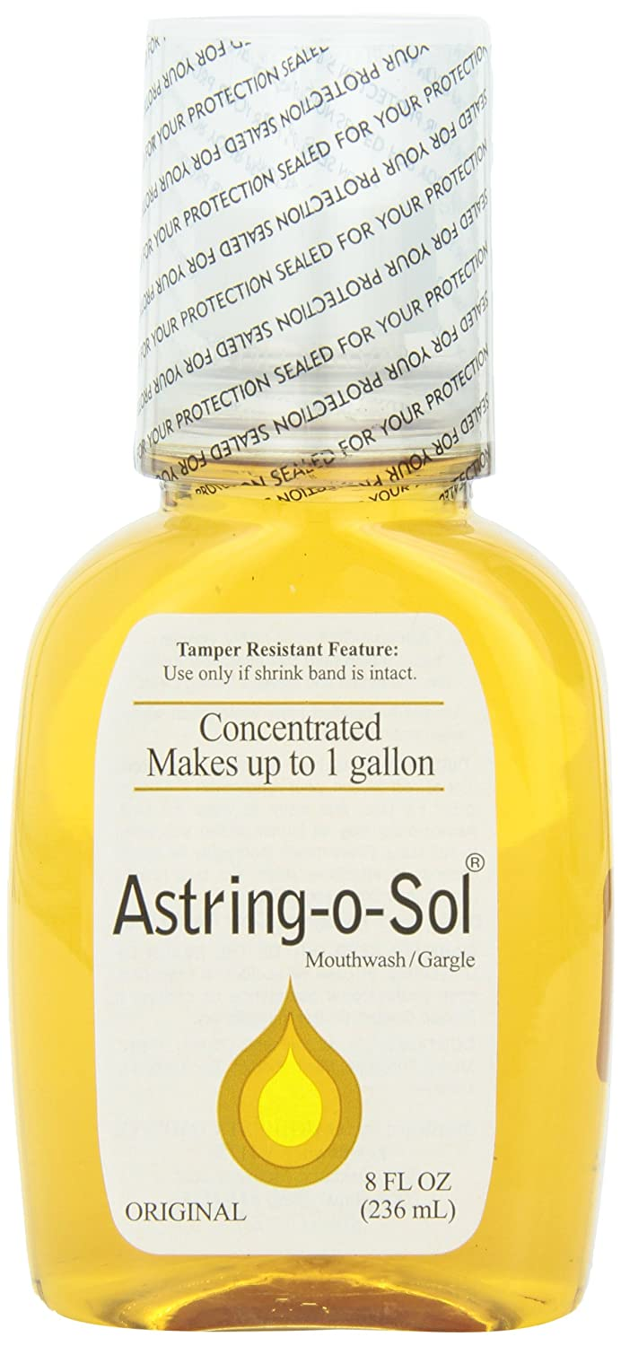 Astring-O-Sol Concentrated Mouthwash Gargle, Original 8 oz Pack of 3