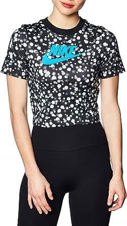 Nike Women's Hrtg Short Sleeve Floral T-Shirt