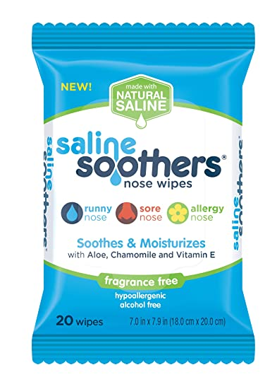 Image result for saline nose wipes