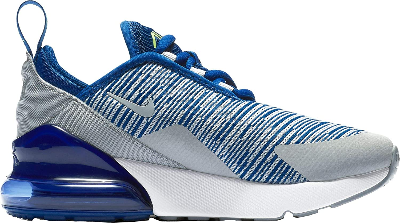 MultiCouleure (Gym bleu Wolf gris Volt blanc 403) Nike Air Max 270 (PS), Chaussures de Running Compétition garçon 31.5 EU