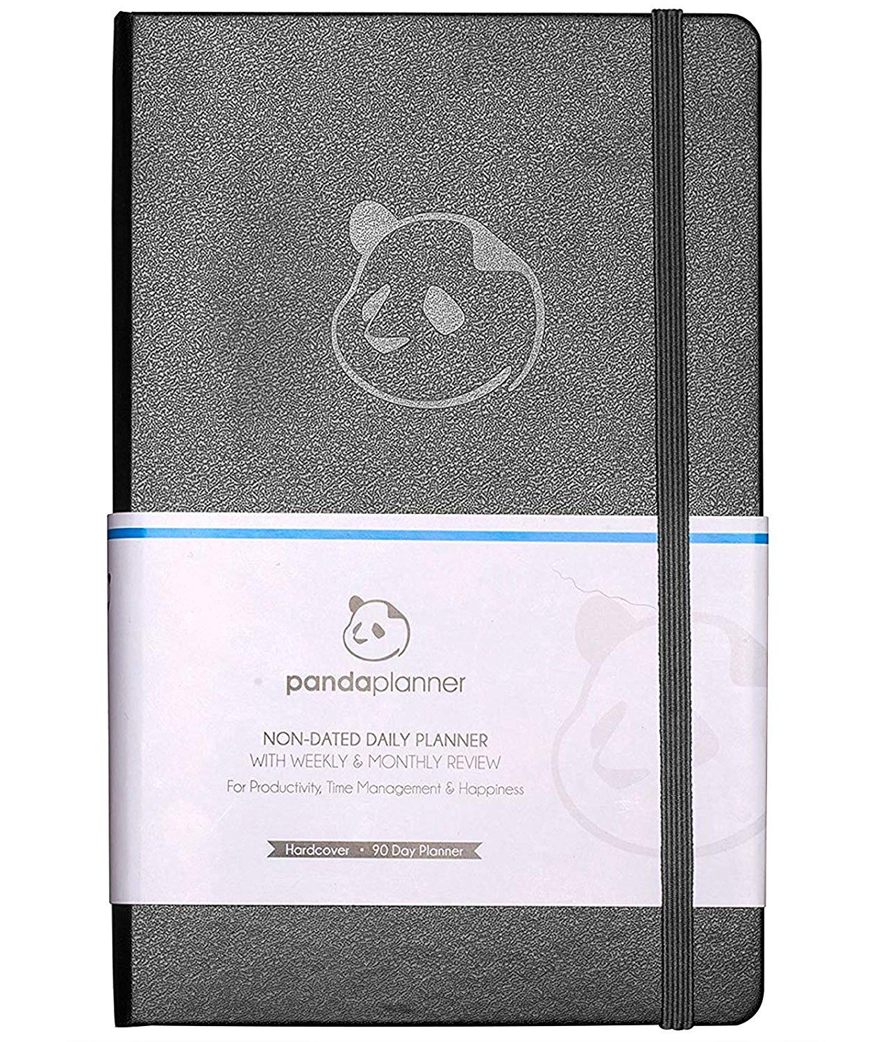 Daily Planner 2019-2020 by Panda Planner | High Performance Time Management Undated Planner | Calendar and Gratitude Journal to Increase Productivity | Undated Monthly Weekly Day Planner