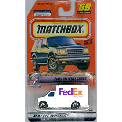 Matchbox FedEx Delivery Truck Speedy Delivery Series #59: Toys & Games