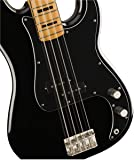 Squier by Fender Classic Vibe 70's Precision Bass - Maple Neck - Black