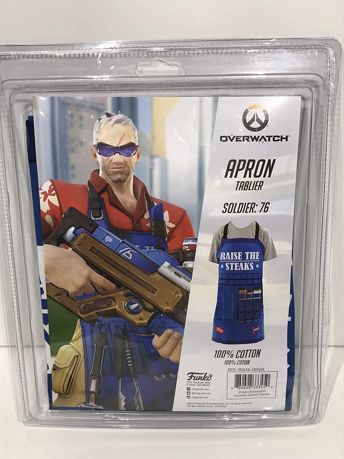 Overwatch Apron Tablier - Soldier:76