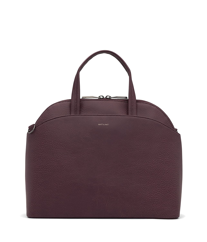 Purple Matt /& Nat Ville Handbag Fig Dwell Collection