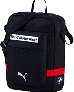 f5b4ec2bde Puma BMW Motorsport Portable Shoulder Bag 074488-02 Navy Blue Unisex Men s  Women s 100%