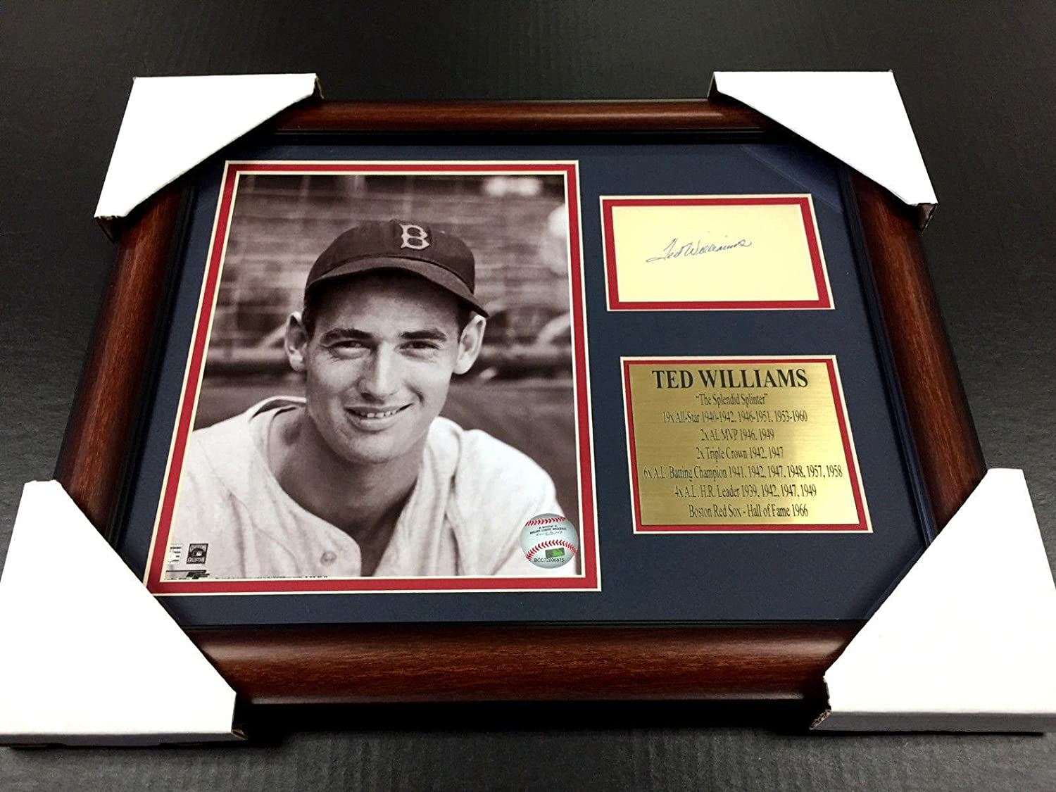 Buy Any 2 Get 1 FREE Ted Williams #10 Photo 8X10-1950 Red Sox