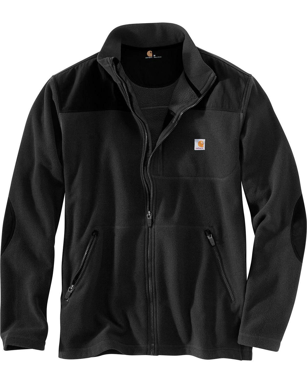 Schwarz XXL Carhartt Fallon Zip Sweatshirt Jacke - Fleecejacke