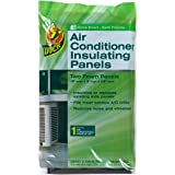 Duck Brand 1286294 Air Conditioner Foam Insulating Panels, 18-Inch x 9-Inch x 7/8-Inch Each, Pack of 2 Panels by Duck