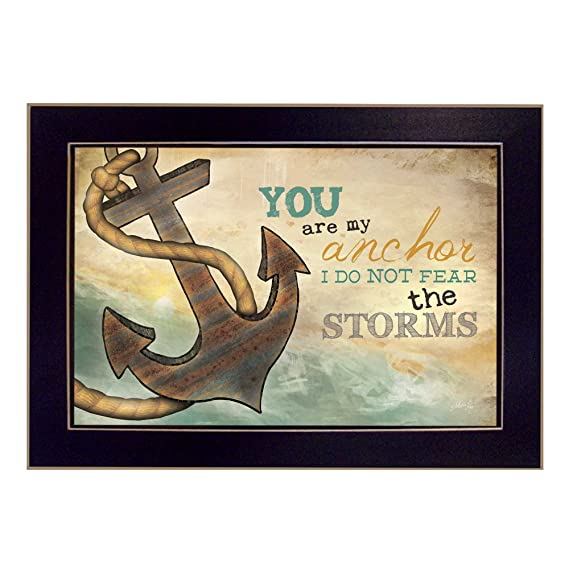 Amazon You Are My Anchor By Marla Rae Printed Wall Art