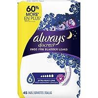 Always Discreet Pads, 45ct