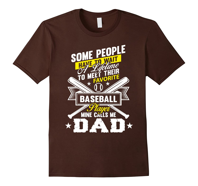 Baseball Mom T Shirt Favorite Baseball Player Mother-Vaci