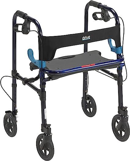 Amazon.com: Andador con ruedas Drive Clever Lite mé ...