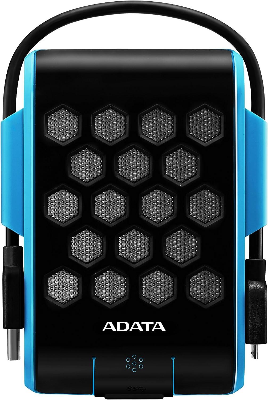 ADATA HD720 2TB USB 3.0 Waterproof/Dustproof/Shock-Resistant External Hard Drive, Blue (AHD720-2TU3-CBL)