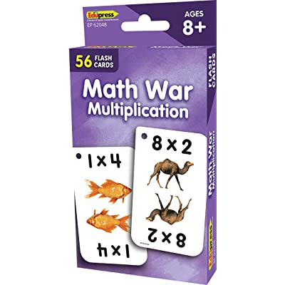 Teacher Created Resources Math War Multiplication Flash Cards (EP62048): Office Products