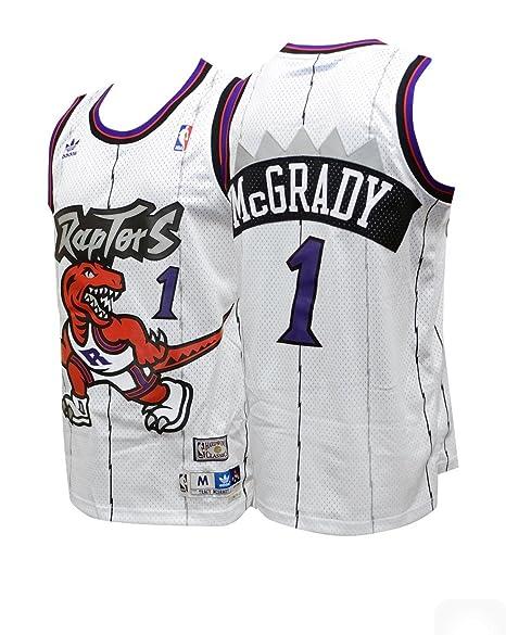 1b975d050 Nike Hardwood Classics Throwback Jersey Toronto Raptors Tracy McGrady (M  (48))
