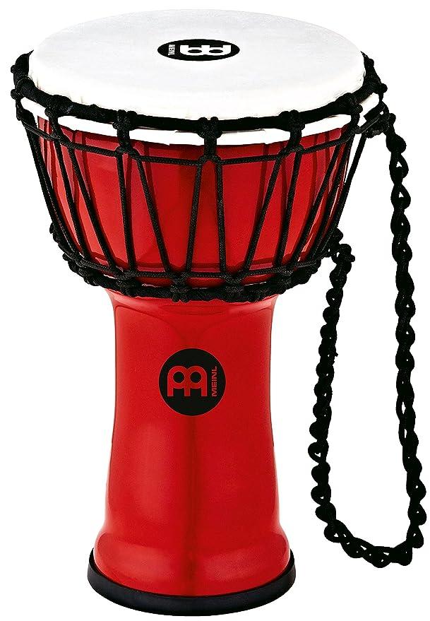 meinl percussion hdj3 m black river series headliner rope tuned  meinl percussion hdj3 m black river series headliner rope tuned djembe, medium 10 inch diameter meinl