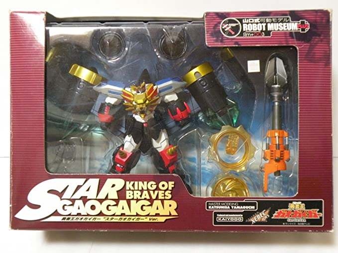Amazon.com: Yamaguchi formula moveable model Brave King Gaogaigar Stars Gaogaigar ver (japan import): Toys & Games
