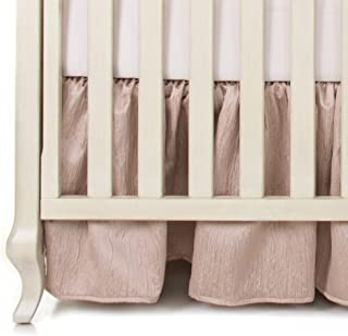 product image for Glenna Jean Angelica Crib Skirt, Pink, one Size