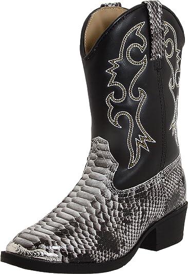 9da2c8aeb8d Laredo Children's Snake Pit Black and White Snake Print Western ...