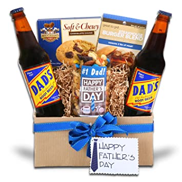 Amazon.com : Celebrate Father's Day Gift Basket : Gourmet Coffee ...