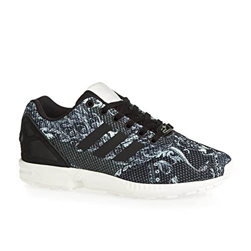 0658220b4 adidas Women s Originals Zx Flux Trainers in Core Black  Amazon.co ...