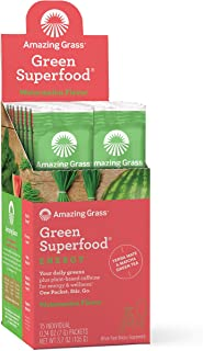product image for Amazing Grass Green Superfood Energy: Super Greens Powder & Plant Based Caffeine with Matcha Green Tea, Watermelon, 15 Servings