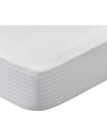 Pikolin Home - Protector de colchón cutí, 100% algodón satén