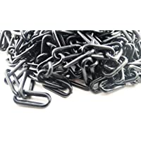 25m marwotec Cadena Negro–6mm cadena–Plástico 25M en bolsa