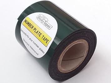 StickyTapes - Cinta adhesiva para matrícula (1 m): Amazon.es: Coche y moto