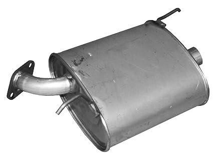 Walker 54654 Quiet-Flow Stainless Steel Muffler Assembly