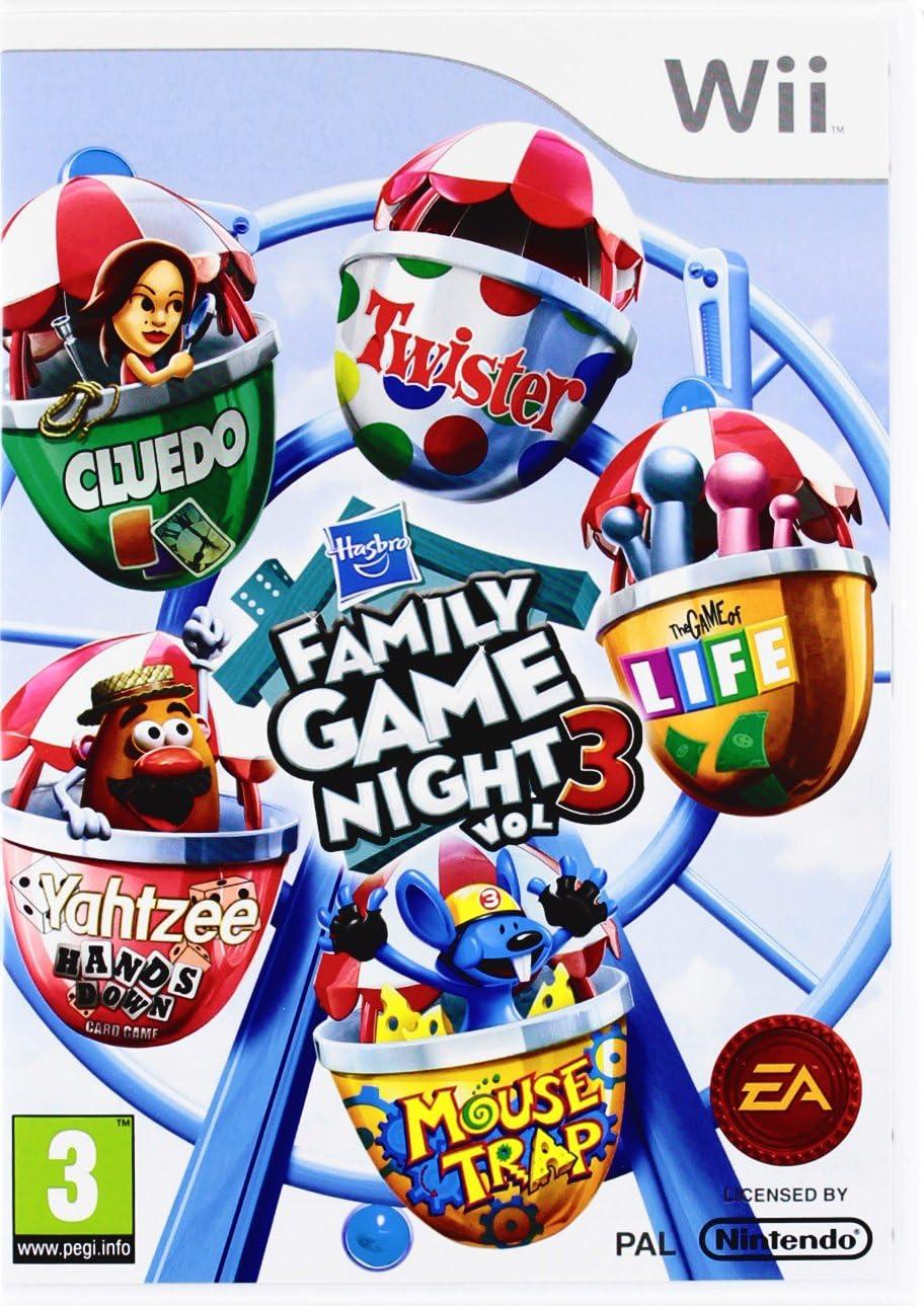 Hasbro Family Game Night 3 (Nintendo Wii) [Importación inglesa]: Amazon.es: Videojuegos
