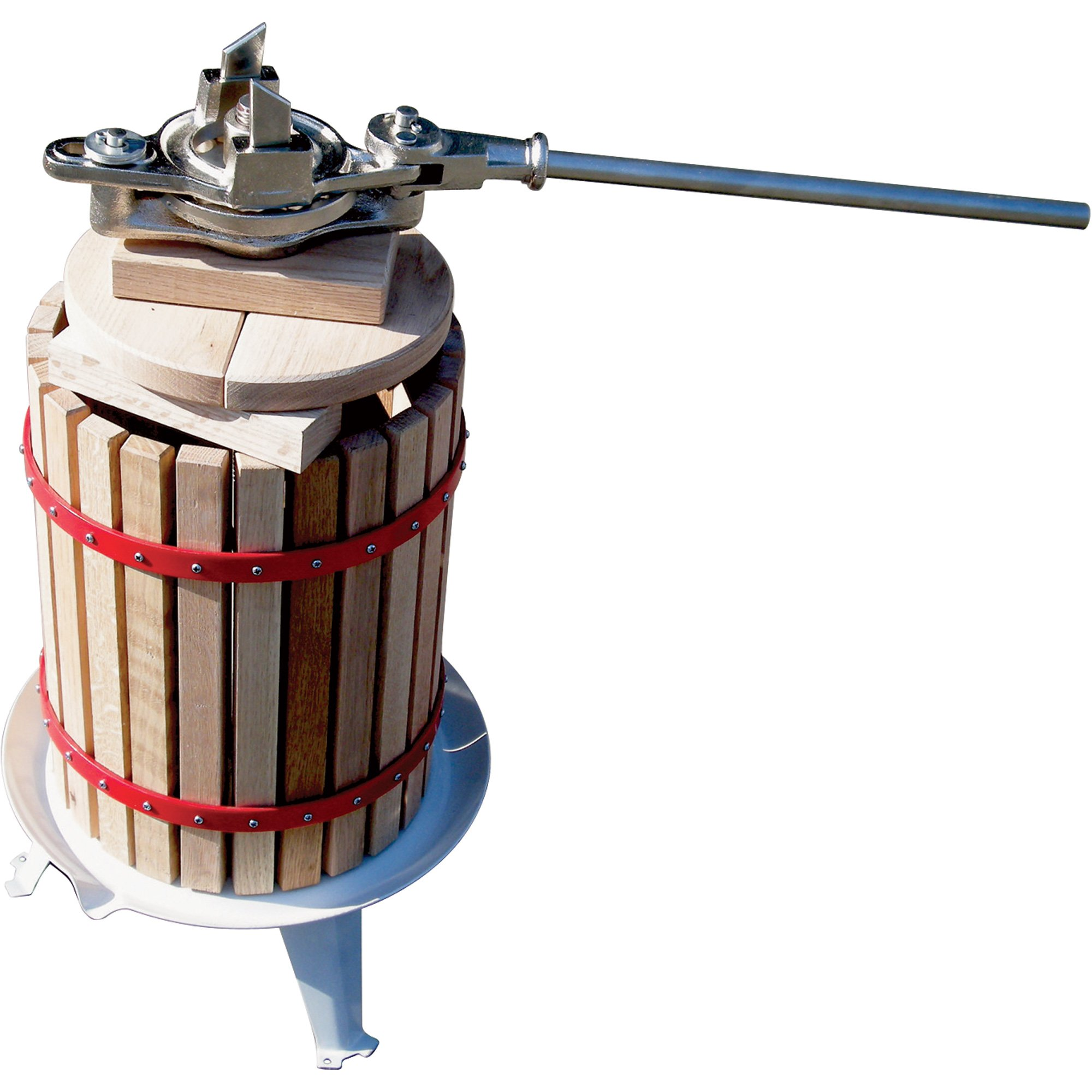 4-Gallon Double Ratchet Fruit Cider and Wine Press