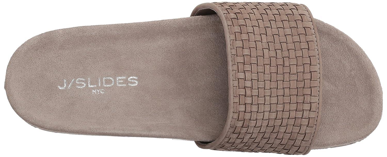 J Slides Women's Naomi Slide Sandal B076DQ4GKK 8.5 M US|Taupe