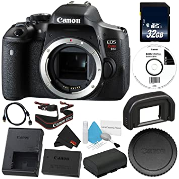 Buy 6ave Canon Eos Rebel T6i Dslr Camera Body Only