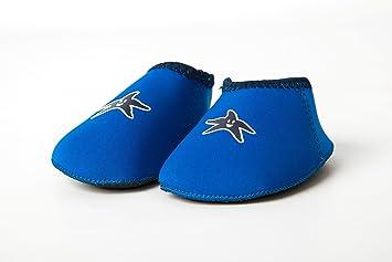 Shore Feet Padder Shoes Blue (Size L (18-24 months)) Yoccoes Designs  10 070 B3 df6a013d586