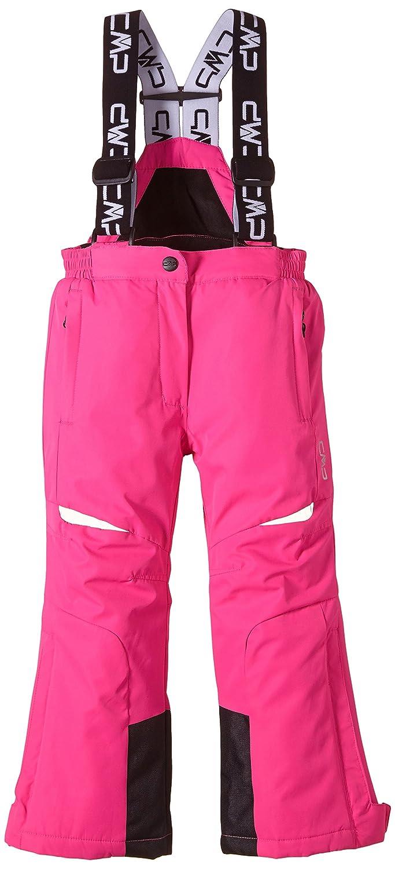 CMP, Pantaloni da sci Bambina, Rosa (Pink Fluo), 104 cm, Rosa Fluo, 104 CMP Campagnolo 3W01805