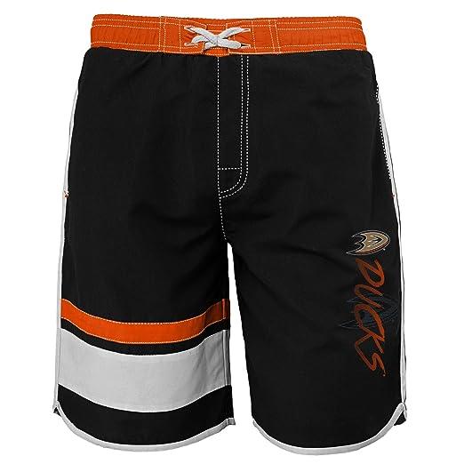 d501f2c25f Amazon.com : Outerstuff NHL Youth Boys 8-20 Swim Trunk : Clothing