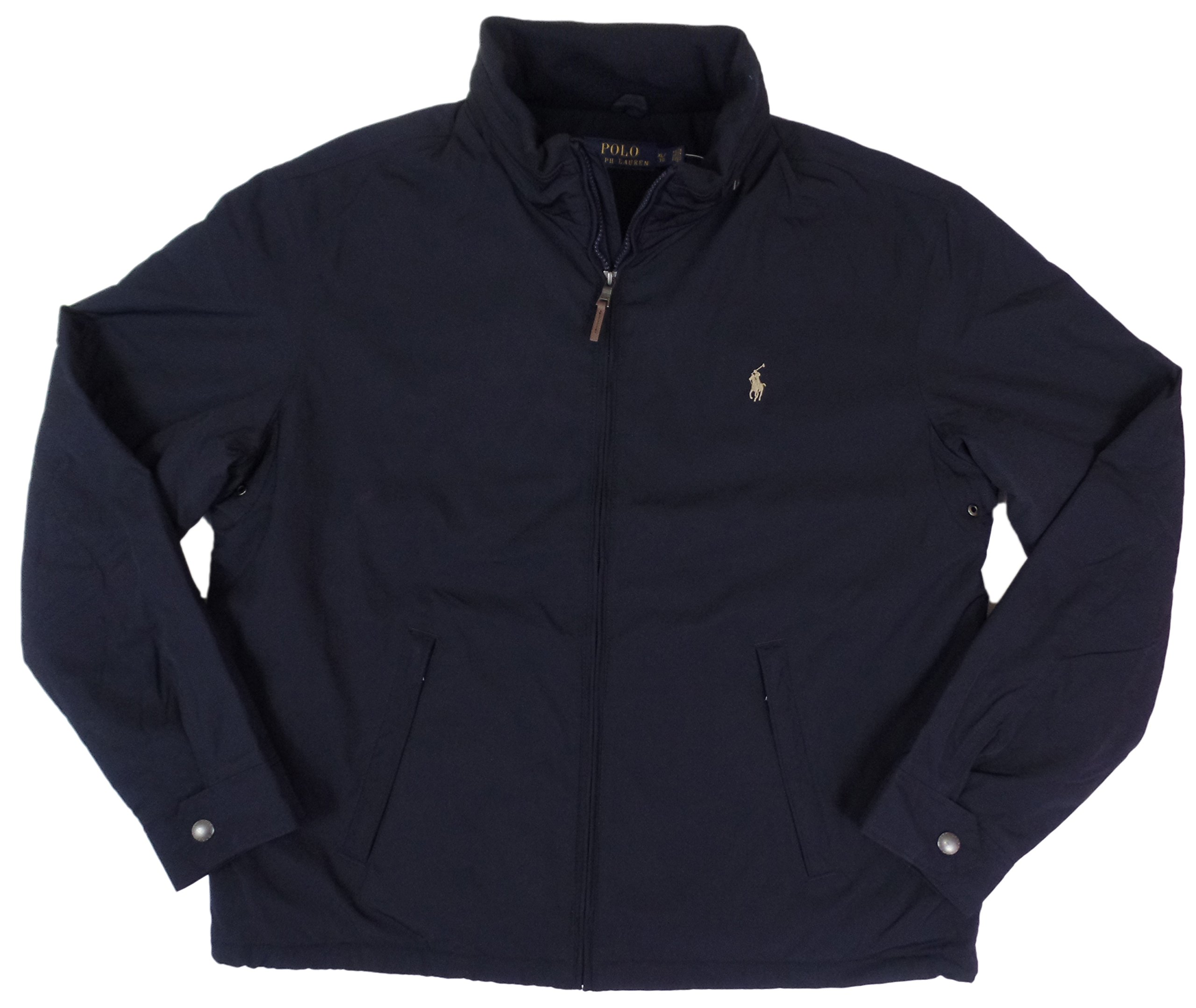 Polo Ralph Lauren Mens Perry Lined Winter Jacket (XLT, Aviator Navy) by Polo Ralph Lauren