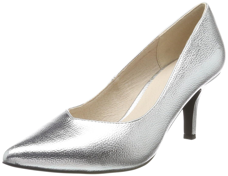Bianco Damen V Pump Pumps (Silver) Silber (Silver) Pumps c07778